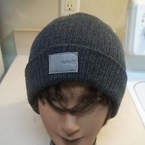 New Mens Womens Hurley Beanie Hat Skull Cap Gray Beanie Photo