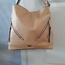 New Michael Kors Evie Butternut Leather Large Hobo Shoulder Handbag Photo