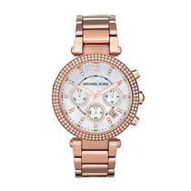 New Michael Kors Mk5491 Women's Quartz Rose Gold Bracelet Watch Photo
