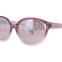 New Michael Kors Mk6036 31287e Rose Clear Smoke / Blush Silver Flash Sunglasses Photo