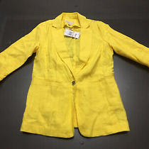 New Michael Kors Women Coat Size 2 Yellow Photo