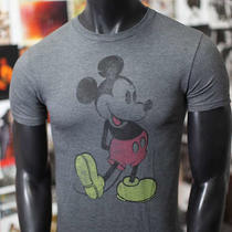 New Mickey Mouse Vintage Quality Official Disney Express Fitted T-Shirt Mens 2xl Photo