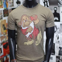 New Mickey Mouse Vintage Quality Official Disney Express Grumpy T-Shirt Mens S Photo