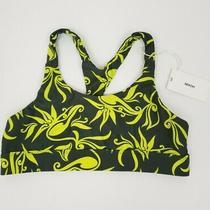 New Mikoh Ecuador Racerback Swim Top Bikini in Nori Print Womens Size Large Photo