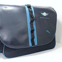 New Mini Cooper Puma Blue Shoulder Messenger Bag for Work or Laptop Photo