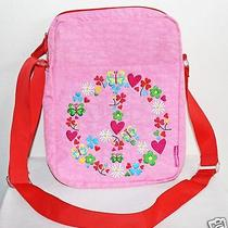 Newmiquelrius Agatha Ruiz De La Prada Pink Orange Peace Messenger Bag Shoulder Photo