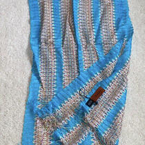 New Missoni Blue Wave Print Scarf Shopbop Photo