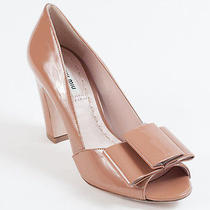 New  Miu Miu by Prada Beige  Pumps Size 35.5 Us 5.5 Photo
