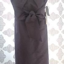 New Ml Monique Lhuillier Bridesmaids Strapless Taffeta Dress Size 8 Photo