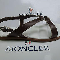 New Moncler Arles Sandals Brown ( 36 ) Us 6 Comfort Trendy Photo