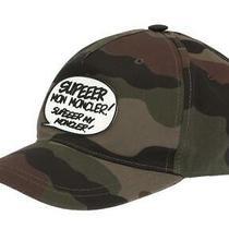 New Moncler Camouflage Khaki Funky Sign Logo Baseball Cap Hat One Size Photo