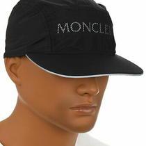 New Moncler Extra Light Reflective Logo Baseball Cap Hat One Size Photo