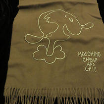 New Moschino Winter Scarf100% Wool (Value 140)  Photo