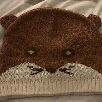 New Mossimo Fox Beanie Animal Winter Hat Unisex Photo