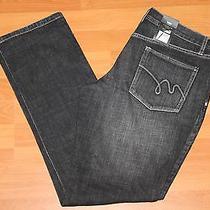 New Mossimo Premium Skinny Pure Black Jeans Sz 10  134184 Photo