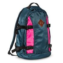 New Mossimo Supply Co. Nylon School College Backpack Blue/pink Photo