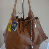 New Nardelli Italian Leather Slouchy Shoulder Tote Hobo Handbag Purse With Pouch Photo