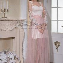 New Natalia Verestova  Wedding Dress Blush  Size 2 Photo