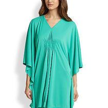 New Natori 150 Ceramic Green Aphrodite Caftan Gown Sleepshirt Sz S Small Photo