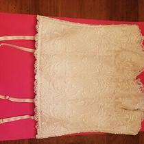 New Natori Ivory  Corset Bra Size 34 B C Photo