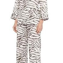 New Natori Sierra Animal Print Poplin  Pajama Set  Xxl 170 Photo