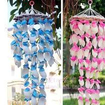 New Natural Wind Chimes With Colorful Sea Shell Home Decoration Hand-Made Gifts Photo