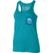 New Neff Gwen Tank Top Ocean Women's Medium Photo