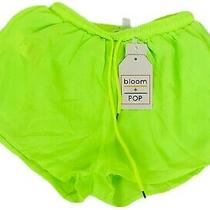 New Neon Yellow Shorts Small Misses Photo