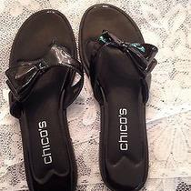 New-Never Been Worn Sandals by Talbot. Black Size 7.5m Photo