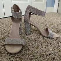 New Never Worn Womens Jeffrey Campbell Lindsay Sparkley Sandals Size 8 Photo