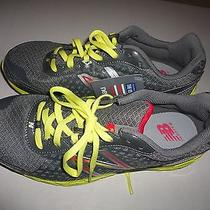 New New Balance Women-590-V3 Running Athletic Shoes Grey/yellow/pink Size 8.5 Photo