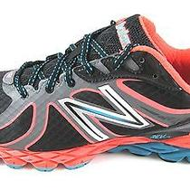 New New Balance Womens 870v2 Pink With Black Running Shoes Us 12 Nib Photo