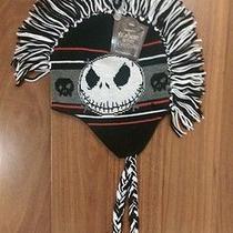 New Nightmare Before Christmas Jack Skellington Tim Burton Knit Cap Winter Hat  Photo
