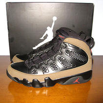 New Nike Air Jordan 9 Ix Olive Size 11.5 2012 Retro Og Infrared Grapes Aqua Viii Photo