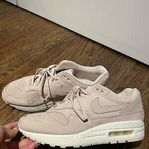 New Nike Air Max 1 Blush Pink Suede Sneaker Shoes Size Us 8 Photo