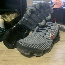 New Nike Air Vapormax Flyknit 3 Red Black Running Shoes Aj6900-012 Men Size 11.5 Photo