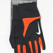 New Nike Element Mens Run Gloves Thermal 2.0 Touch Med Great Gift    Photo