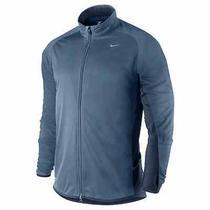 New Nike Element Shield Men's Running Jacket Men's Sz Large 424242 449 Blue Photo