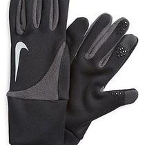 New Nike Element Thermal 2.0 Run Gloves Black Womens L Running Winter New W/tags Photo