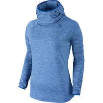 New Nike Element Women's Running Hoodie - Blue Size Medium Photo