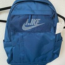 New Nike Elemental 2.0 Backpack Ba5878-432 Valerian Blue Book Backpack Nwt Photo