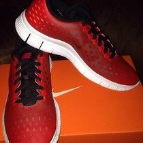 New Nike Free Express (Gs) Sz 5y  Running/ Training Shoe Red Black Grey Photo