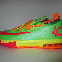 New Nike Kd 6 Vi Kevin Durant 599477 300 Candy Gs Ds Size 4 Seat Kd 7 Retro Photo