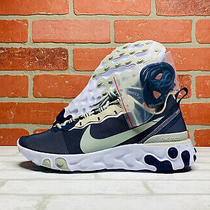 New Nike Nfl React Element 55 Dallas Cowboys Running Shoes Mens 8.5 Ck4801-400 Photo