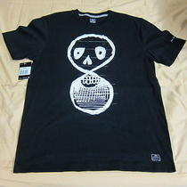 New Nike Sb Brian Anderson  Eight 8 Skater Cotton T-Shirt L Large Black White Photo