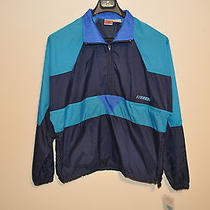 New Nike Windbreaker Navy Blue Dead Stock Vintage Size M Medium Free Shipping Photo