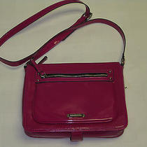 New Nine West Crossbody Bag Pink for Small Computer Nwt Photo