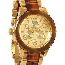 New Nixon A037-1424 Men's Gold Watch Photo