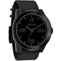 New Nixon A243-001 the Corporal Men's All Black Watch Photo