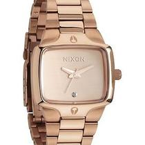 New Nixon A300-897 the Small Player All Rose Gold Women's Watch Photo